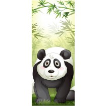 Stickers porte enfant Panda