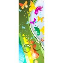 Stickers porte enfant Papillons