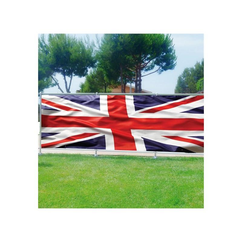 brise vue d co drapeau anglais art d co stickers. Black Bedroom Furniture Sets. Home Design Ideas