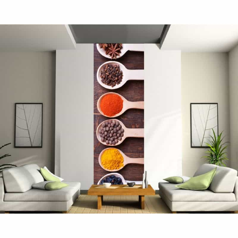 stickers l unique cuisine epices art d co stickers. Black Bedroom Furniture Sets. Home Design Ideas