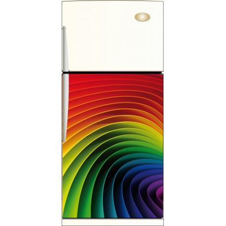 Sticker frigo multicolore - ou Magnet frigo