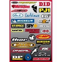 29 stickers autocollants Moto FX3