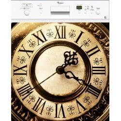 Sticker Lave Vaisselle Horloge ou magnet lave vaisselle