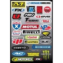 29 stickers autocollants Moto FX4