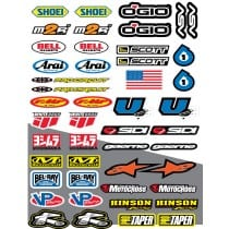 47 stickers autocollants Moto FX10