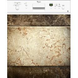 Sticker lave vaisselle Marbre ou magnet lave vaisselle