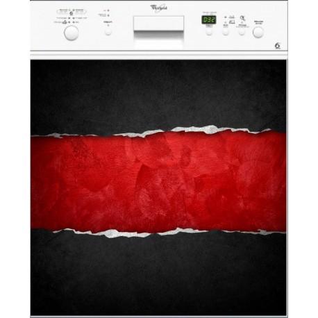 Sticker lave laisselle Design ou magnet lave vaisselle