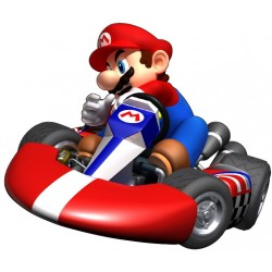 Stickers enfant mario kart