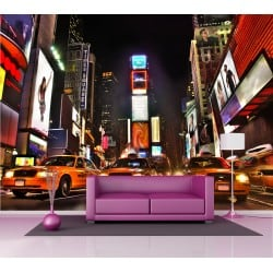 Papier peint grand format New York Taxi 2,5x3,6 m