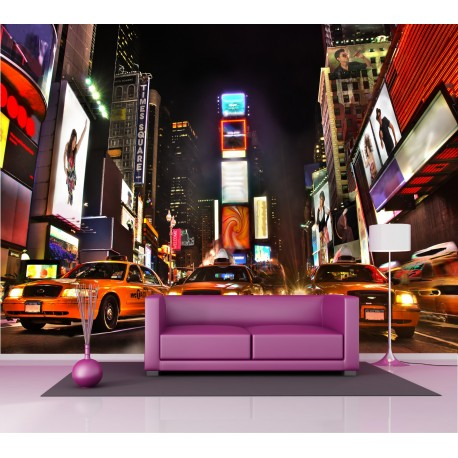 Papier peint grand format New York Taxi