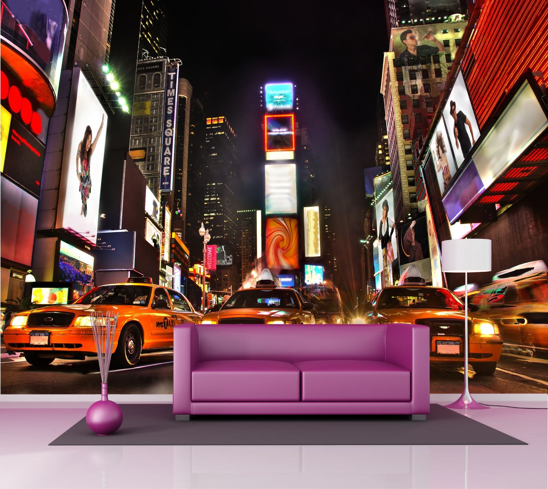 poster mural xxl new york. Black Bedroom Furniture Sets. Home Design Ideas