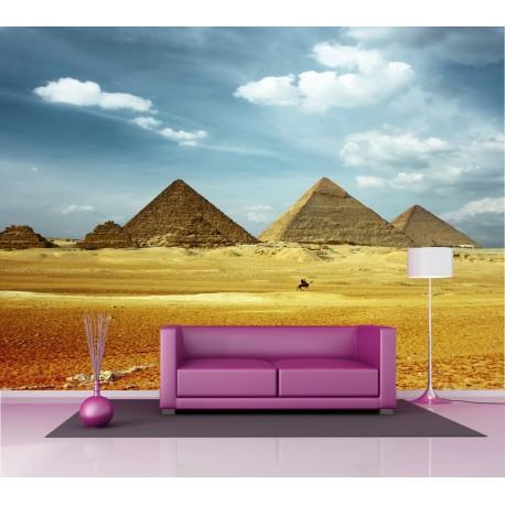 Papier peint intissé Pyramides d'Egypte 2,6x3,6 m