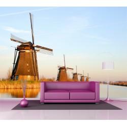 Papier peint grand format Moulins à vent 2,5x3,6 m