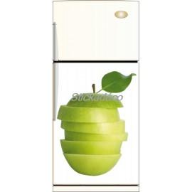 Sticker déco pour frigidaire Pomme