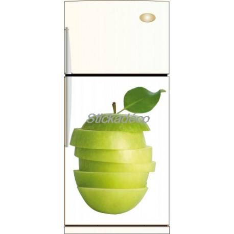 Sticker frigidaire Pomme