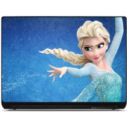 Stickers pc ordinateur portable La reine des neiges