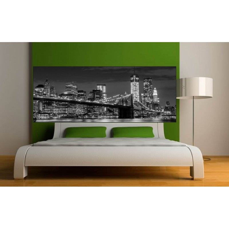stickers t te de lit new york art d co stickers. Black Bedroom Furniture Sets. Home Design Ideas
