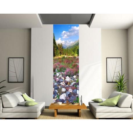 Papier peint lé unique paysage
