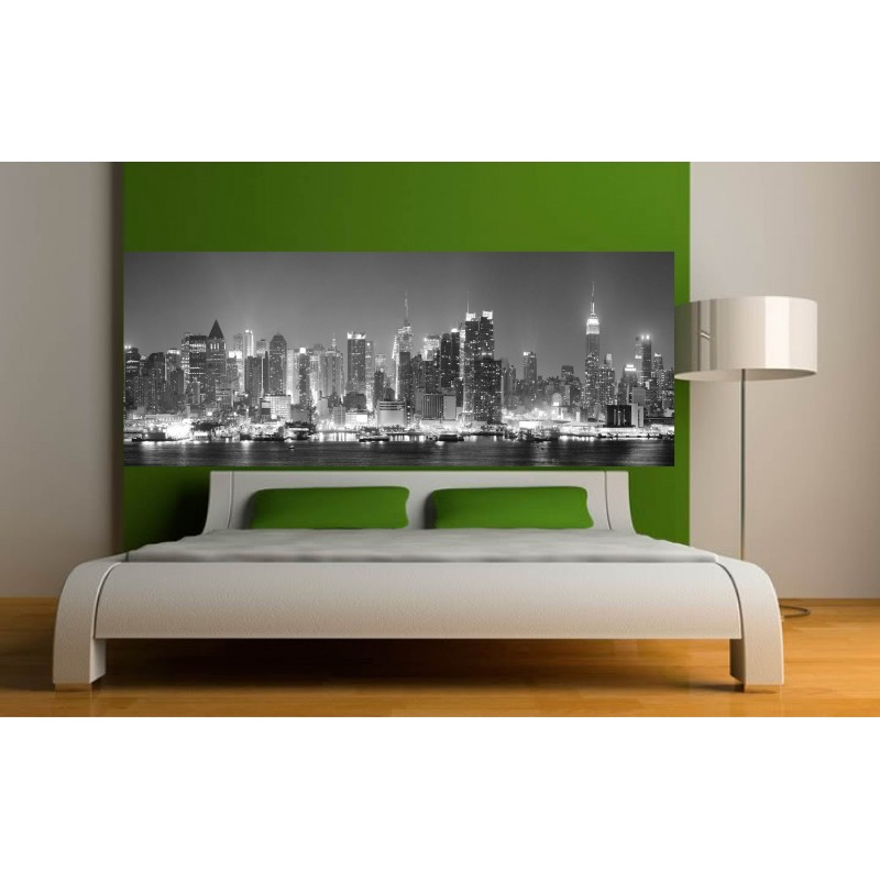 stickers t te de lit d co new york art d co stickers. Black Bedroom Furniture Sets. Home Design Ideas