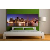 stickers t te de lit stickers muraux d co lit 3 art d co stickers. Black Bedroom Furniture Sets. Home Design Ideas