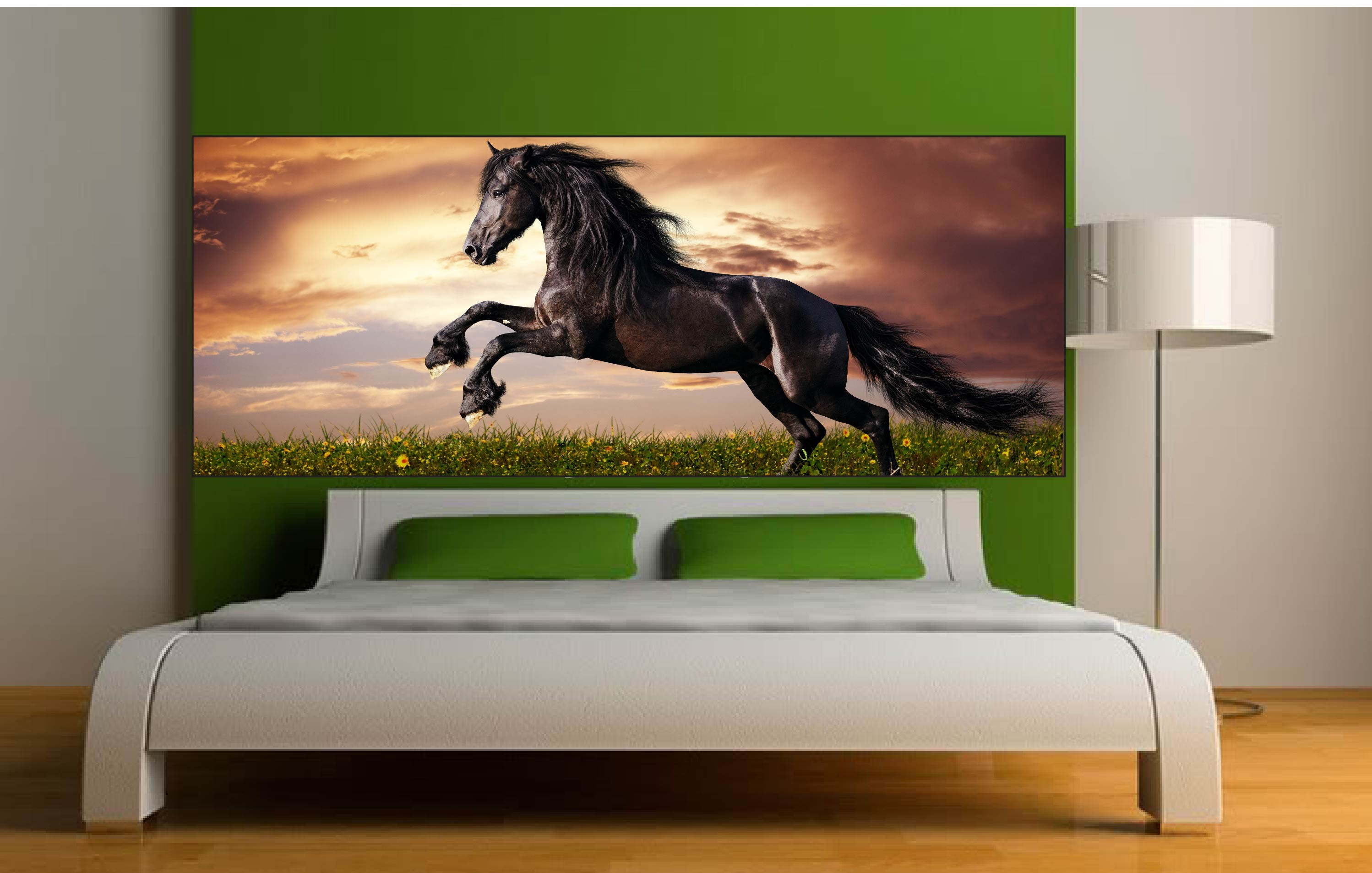 best sticker mural cheval with sticker mural cheval. Black Bedroom Furniture Sets. Home Design Ideas