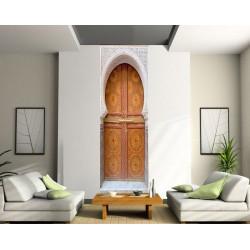 Papier peint lé unique porte orientale