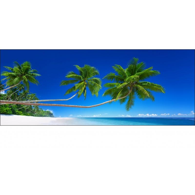 Brise vue imprim d co les tropiques art d co stickers - Brise vue imprime ...