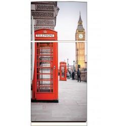 Stickers frigo déco cuisine Londres Big Ben