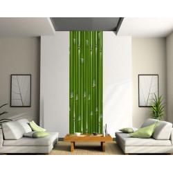 Papier peint lé unique Bambou
