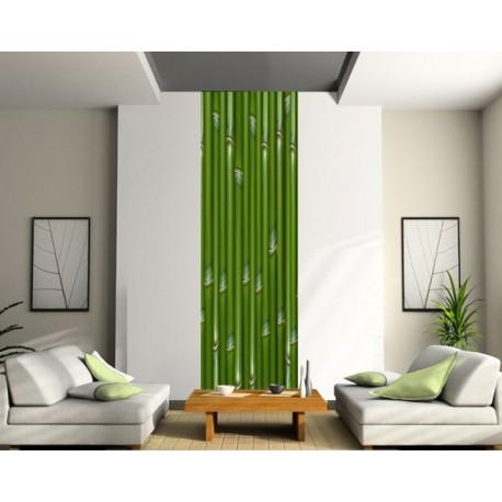 Papier peint déco murale lé unique Bambou