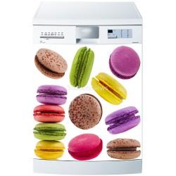 Stickers Lave Vaisselle Macarons - ou magnet lave vaisselle