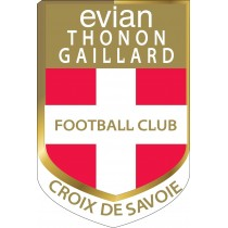 Stickers foot Evian Thonon Gaillard FC ETG