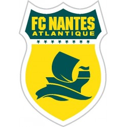 Stickers foot Autocollant Football Fc Nantes