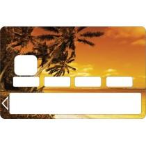 2 Stickers Carte bleue - Carte bancaire - CB