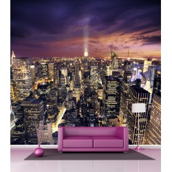 Papier peint grand format New York 2,5x2,5 m