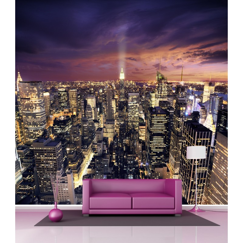 Papier Peint Grand Format New York 2,6x2,7 M ...