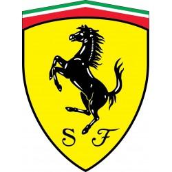 Stickers autocollant Logos Emblème Ferrari