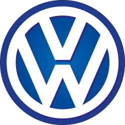 Stickers autocollant Logo Emblème Volkswagen
