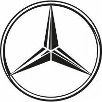 Stickers autocollant Logos Emblème Mercedes