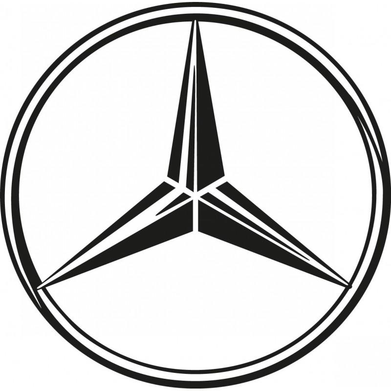 Stickers Autocollant Logos Embl 232 Me Mercedes Art D 233 Co