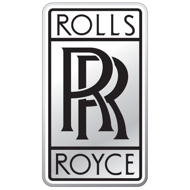 stickers autocollant logos embl me rolls royce art d co stickers. Black Bedroom Furniture Sets. Home Design Ideas