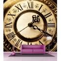 Papier peint grande largeur Horloge 2,5x2,5 m