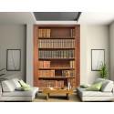 papier peint grande largeur biblioth que art d co stickers. Black Bedroom Furniture Sets. Home Design Ideas