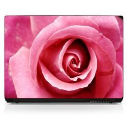 Stickers pc ordinateur portable Rose