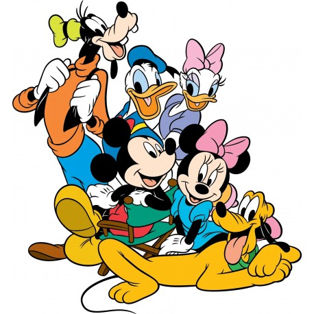 Stickers mickey et ses amis art d co stickers - Mickey mouse et ses amis ...