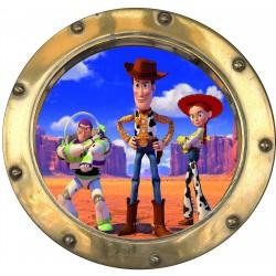 Sticker hublot enfant Toy Story