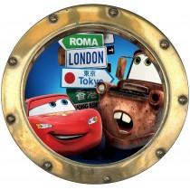Sticker hublot enfant CARS