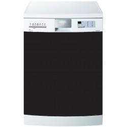 Stickers Lave Vaisselle Uni couleur noir