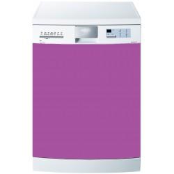 Stickers Lave Vaisselle Uni couleur Lavande