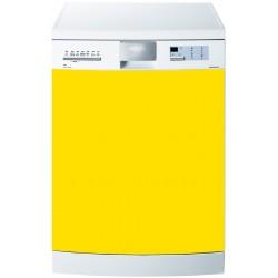 Stickers Lave Vaisselle Uni couleur Jaune